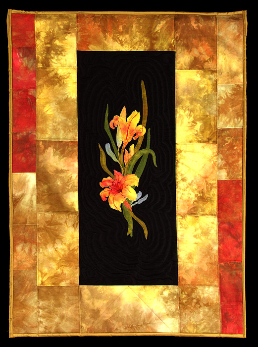 Golden Lilies - SOLD