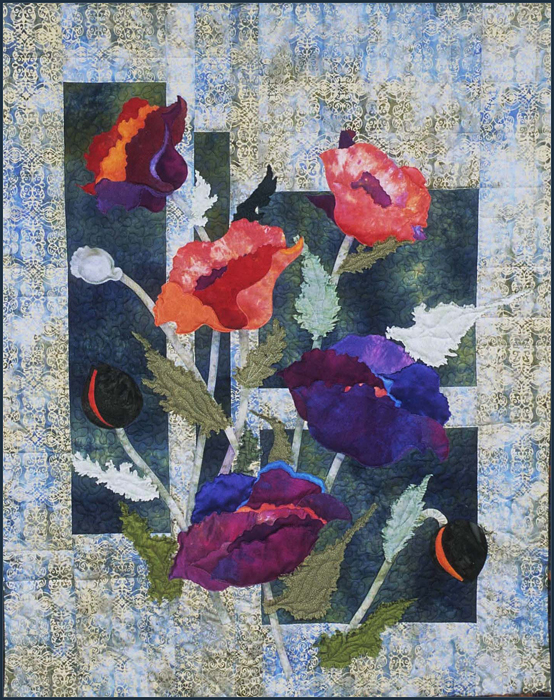 Passion for Poppies - SOLD
